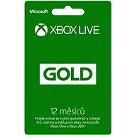 Microsoft Xbox 360 Live 12 Month Gold Membership Card - Zlatá členská karta pre Xbox Live!