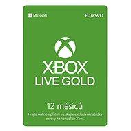 Microsoft Xbox Live 12 Month Gold Membership Card (Digitálny kód) - Zlatá členská karta pre Xbox Live!
