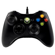 Microsoft XBOX 360 Controller Black - Gamepad
