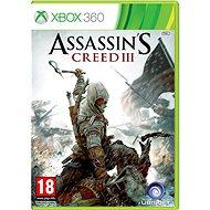Xbox 360 - Assassin's Creed III CZ - Hra pre konzolu
