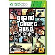 Xbox 360 - Grand Theft Auto San Andreas - Hra pre konzolu