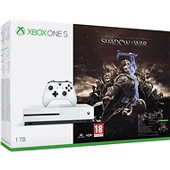 Microsoft Xbox One S 1TB Middle-Earth: Shadow of War - Herná konzola