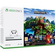 Microsoft Xbox One S 500GB Minecraft + Minecraft Story Mode 2 + 3 měsíční LIVE GOLD - Herná konzola