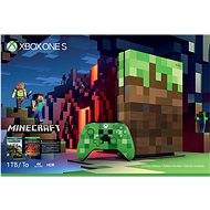 Xbox One S 1TB Minecraft Limited Edition - Herná konzola