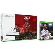 Microsoft Xbox One S 1TB Halo Wars 2 bundle + FIFA 18 - Herná konzola