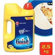 FINISH prášok Power Powder Citrón 2,5 kg - Prášok do umývačky