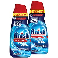 FINISH Gel All-in-1 Shine & Protect 2x 650 ml - Gél do umývačky