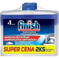 FINISH Čistič umývačky 2x250 ml - Čistič umývačky riadu