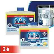 FINISH Lemon DUO 250 ml - Čistič umývačky riadu