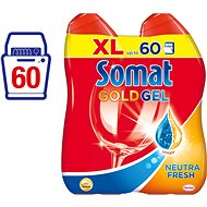 SOMAT Gold Gel Neutra-Fresh 2x600 ml - Gél do umývačky