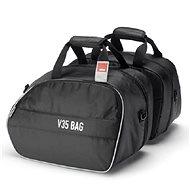 GIVI T 443B pár tašiek do bočných kufrov V 35, čiernej, 2x34 l. - Kufor