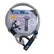 OXFORD zámek na motocykl TripWire XL, (stříbrný, délka 1,6m, průměr 15mm) - Príslušenstvo