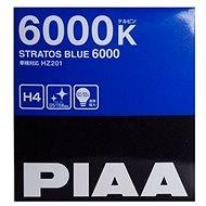 Autožárovky PIAA Stratos Blue 6000K H4 - studené bílé světlo s xenonovým efektem - Autožiarovka