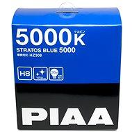 Autožárovky PIAA Stratos Blue 5000K H8 - žárovky pro vytvoření bílého světla v BMW Angel Eyes - Autožiarovka