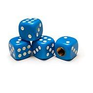 Čepičky ventilků hrací kostky modré, 4ks - Príslušenstvo