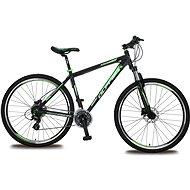 Olpran Appolo 13 29 - black / green / black - Bicykel