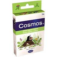 COSMOS Náplasť detská s krtkom - 3 veľkosti (16 ks) - Náplasť