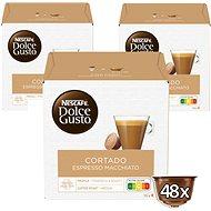 Nescafé Dolce Gusto Cortado 16ks x 3 - Kávové kapsuly
