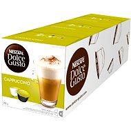 Nescafé Dolce Gusto Cappuccino 16 ksx 3 - Kávové kapsuly