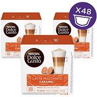 Nescafé Dolce Gusto Latte Macchiato Caramel 16ks x 3 - Kávové kapsuly