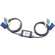 ATEN 1U-2PC - KVM elektronický prepínač