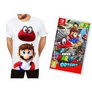 Super Mario Odyssey + Originál Tričko - Nintendo Switch - Hra pre konzolu