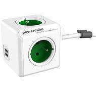 PowerCube Extended USB zelená - Adaptér