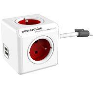 PowerCube Extended USB červená - Adaptér