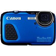 Canon PowerShot D30 modrý - Digitálny fotoaparát
