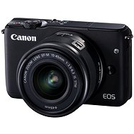 Canon EOS M10 Black + EF-M 15 - 45 mm F3,5 - 6,3 IS STM - Digitálny fotoaparát