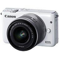 Canon EOS M10 White + EF-M 15-45 mm F3.5 - 6.3 IS STM - Digitálny fotoaparát