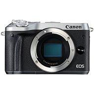 Canon EOS M6 telo strieborné - Digitálny fotoaparát