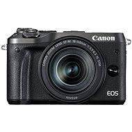Canon EOS M6 čierny + EF-M 18-150mm - Digitálny fotoaparát