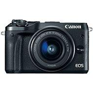 Canon EOS M6 čierny + EF-M 15-45mm + 55-200mm - Digitálny fotoaparát
