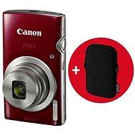 Canon IXUS 185 červený Essential Kit - Digitálny fotoaparát