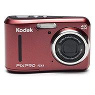 Kodak FriendlyZoom FZ43 červený - Digitálny fotoaparát