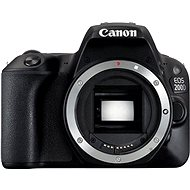 Canon EOS 200D telo čierne - Digitálna zrkadlovka