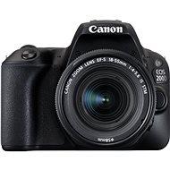 Canon EOS 200D čierny + 18-55mm IS STM - Digitálna zrkadlovka