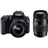 Canon EOS 200D čierny + 18–55mm IS STM + TAMRON 70–300mm - Digitálna zrkadlovka