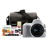 Canon EOS 200D biely + 18–55 mm IS STM + Canon Starter Kit - Digitálna zrkadlovka