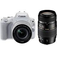 Canon EOS 200D biely + 18–55 mm IS STM + TAMRON 70–300 mm - Digitálna zrkadlovka