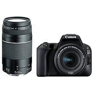 Canon EOS 200D čierny + 18-55mm IS STM + 75-300mm - Digitálna zrkadlovka