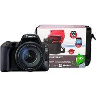 Canon EOS 200D + 18–135mm IS STM + Canon Starter Kit - Digitálna zrkadlovka