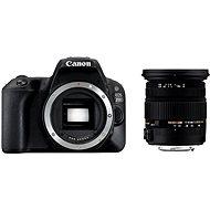 Canon EOS 200D telo čierny + Sigma 17-50 mm