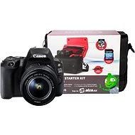 Canon EOS 200D čierny + 18–55 mm DC III + Canon Starter Kit - Digitálna zrkadlovka