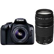 Canon EOS 1300D + 18-55mm DC III + 75-300 DC III - Digitálna zrkadlovka