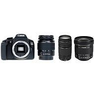 Canon EOS 1300D + 18-55 mm DC III + 75-300 m DC III + 10-18 mm IS STM - Digitálna zrkadlovka