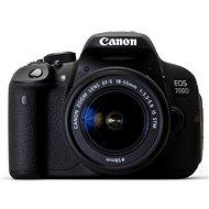 Canon EOS 700D + EF-S 18 - 55 mm IS STM - Digitálna zrkadlovka
