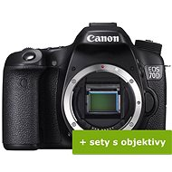 Canon EOS 70D - Digitálna zrkadlovka