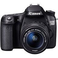 Canon EOS 70D body + 18-55mm IS STM - Digitálna zrkadlovka